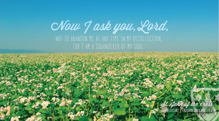 God\'s Garden, May 19, 2017 - Our Lady of Mt. Carmel